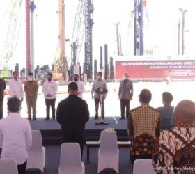 Presiden Jokowi Resmikan Pembangunan Smelter di Gresik